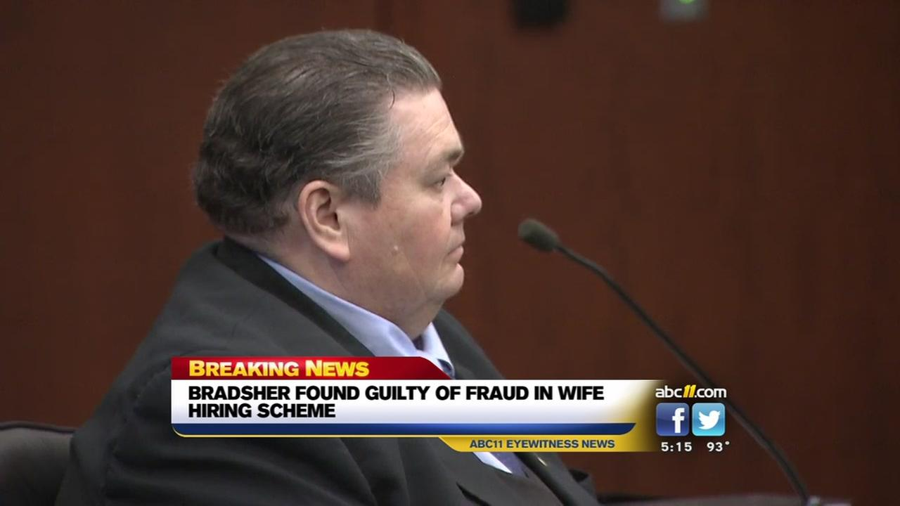 Bradsher found guilty of fraud, other charges