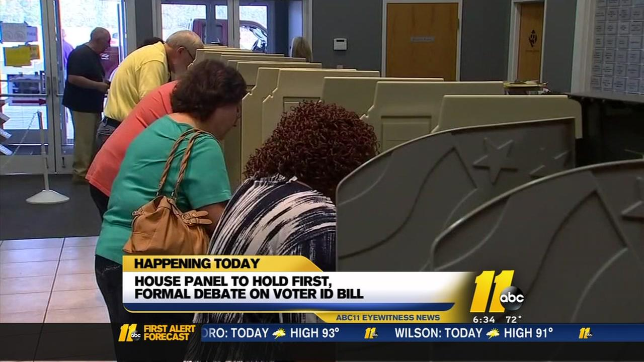 NC photo ID mandate headed to House panel debate