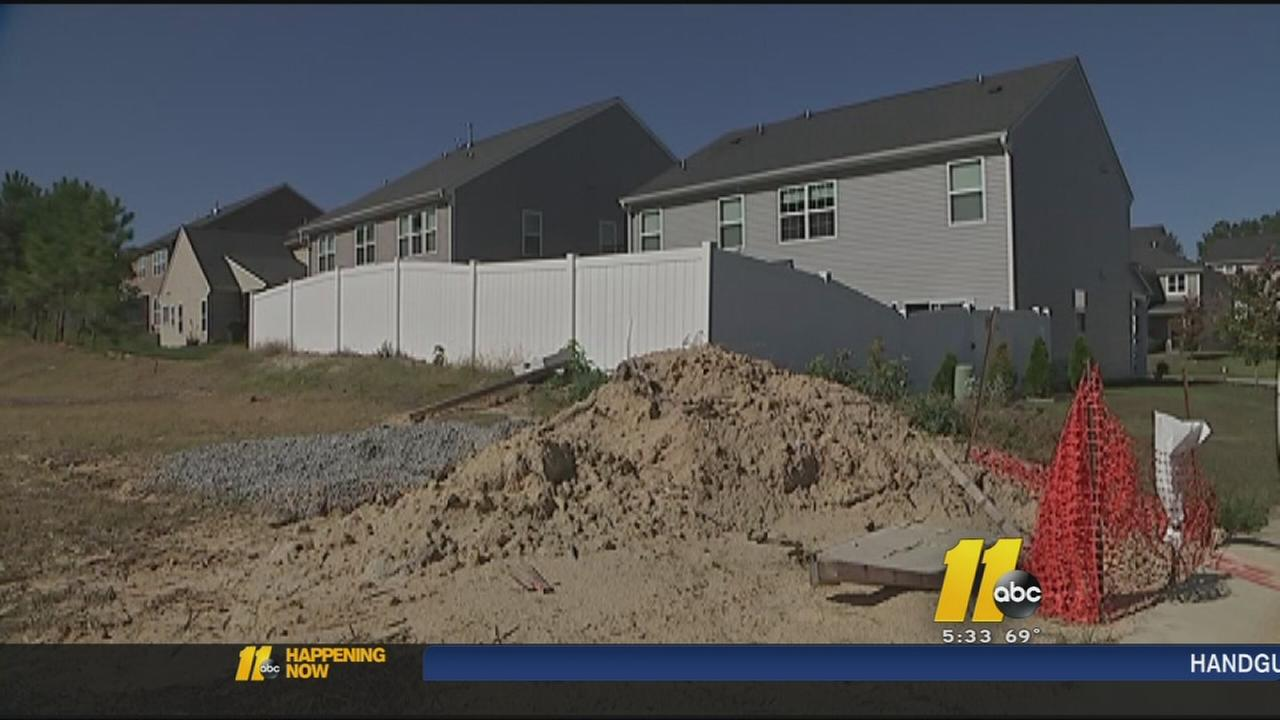 Construction causes problems for some Raleigh homeowners