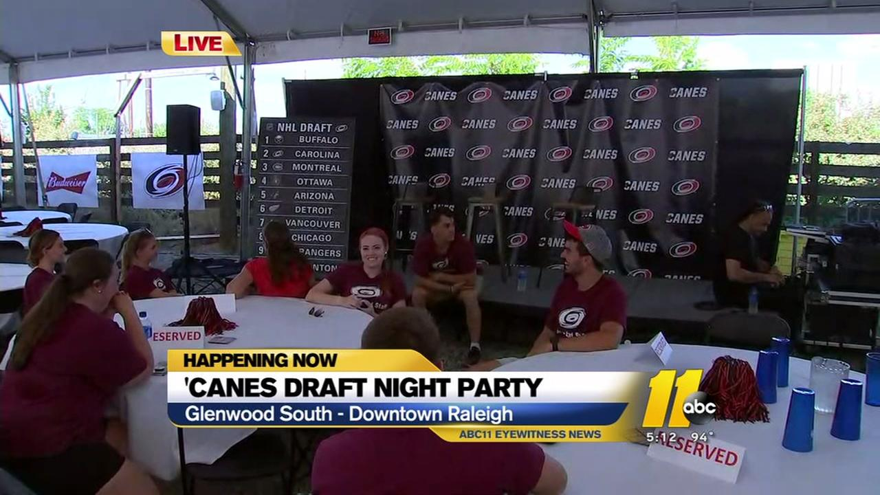 Carolina Hurricanes draft night