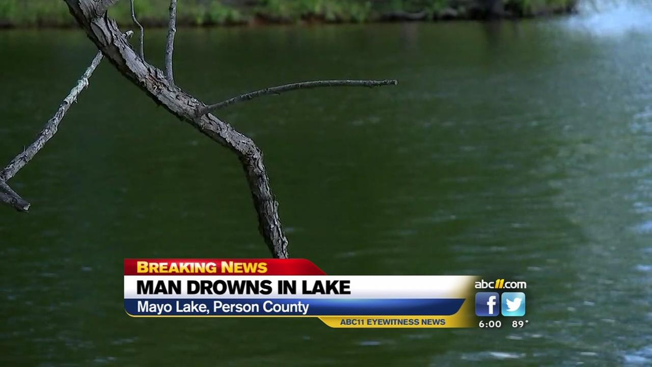 Officials respond to drowning at Person Co. lake