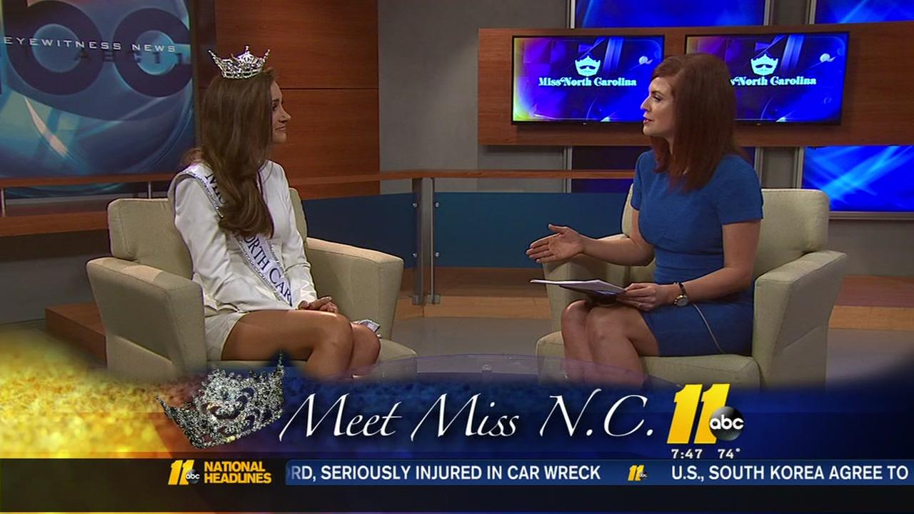 ABC11 sits down with the newly crowned Miss North Carolina 2018