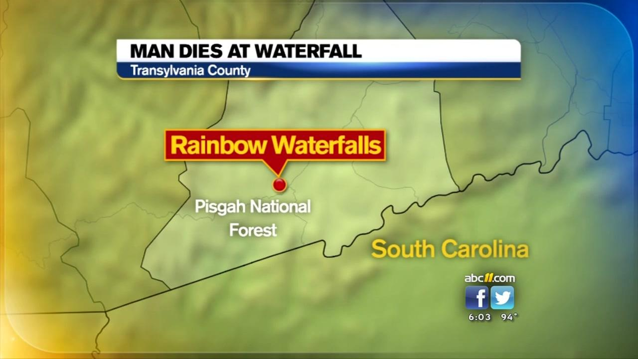 Man dies trying to save his dog at NC waterfall
