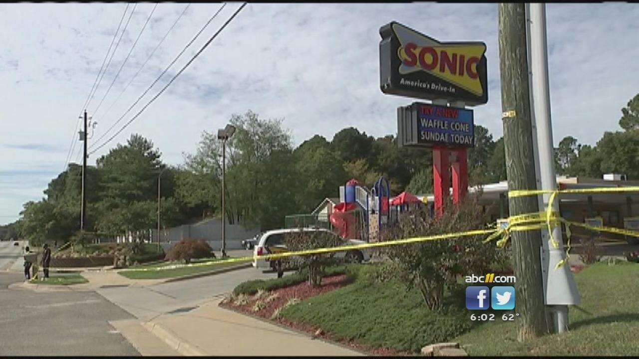 The shooting happened Friday morning, while deputies were conducting a traffic stop at Sonic, according to the Cumberland County Sheriffs Office.