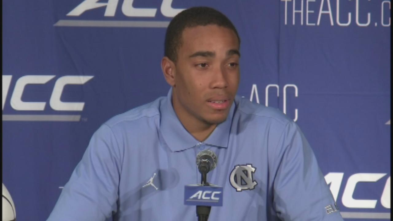 UNC forward Brice Johnson