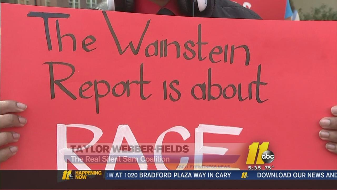UNC students rally against Wainstein report, call for an end to discrimination