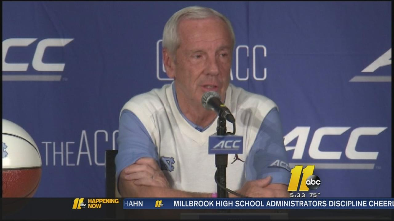Roy Williams at ACC event