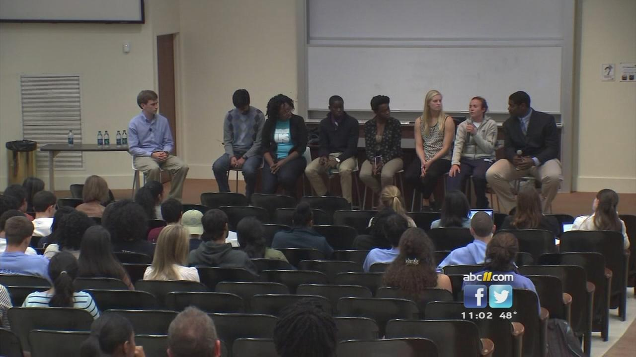 UNC students hold forum on Wainstein report