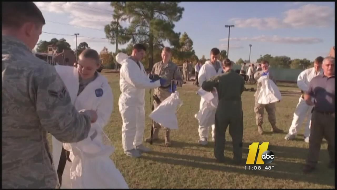 Ebola training underway at Fort Bragg