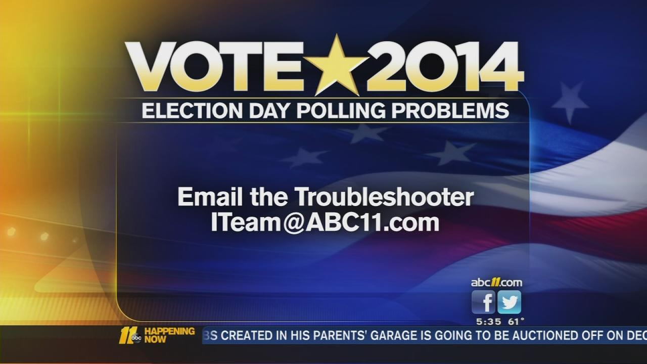 I-TEAM Troubleshooter: Voting problems reported in Triangle