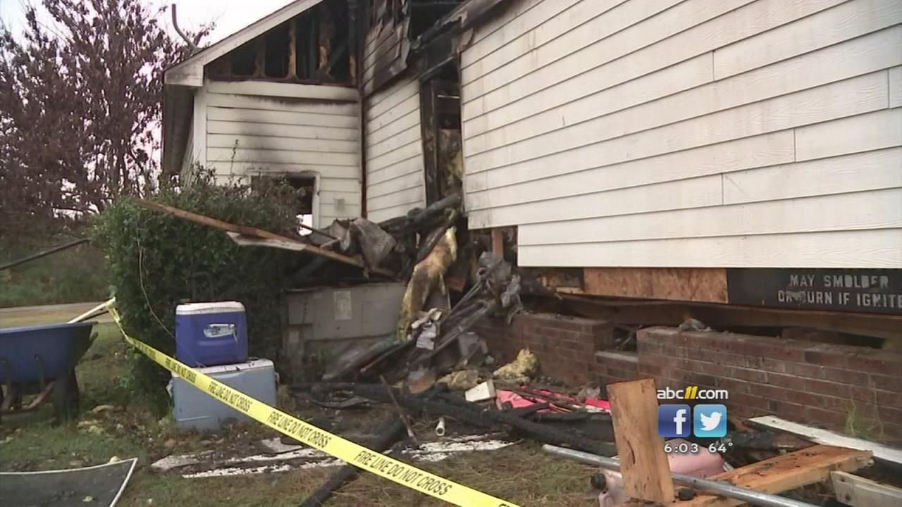 Franklin County home damaged by explosion, fire