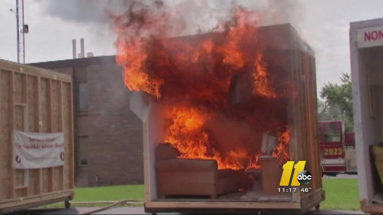 I-Team: Fires inside newer homes can cause more damage