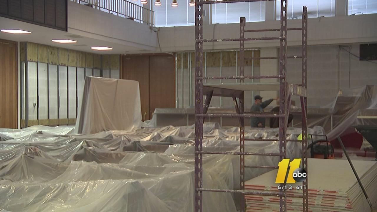 NC Legislative Building remodeling