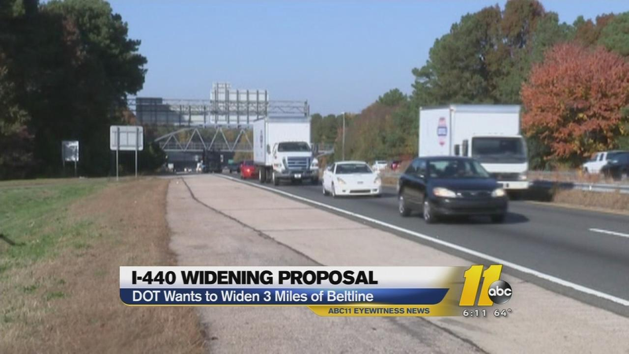 Public to speak out on make-over of I-440 in Raleigh