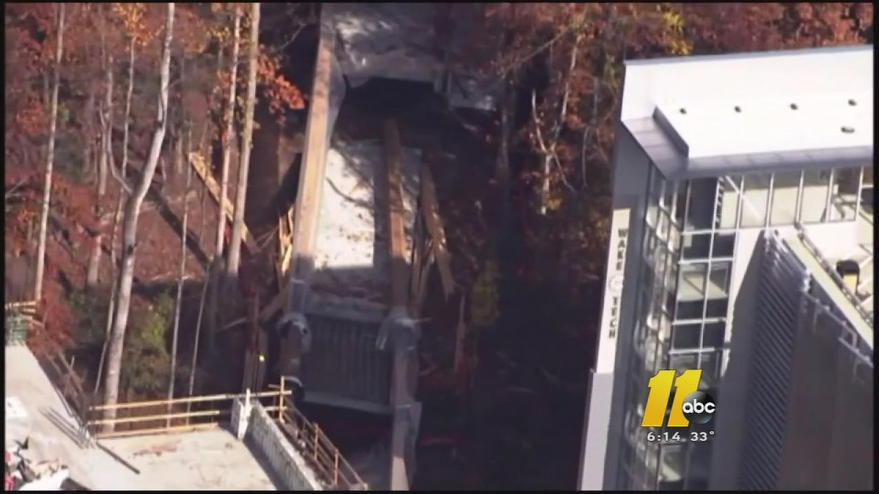 I-Team: Why did 2 Wake Tech bridges collapse?