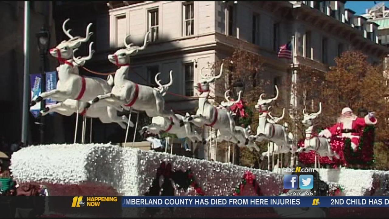 Large crowds expected for Raleigh Christmas parade