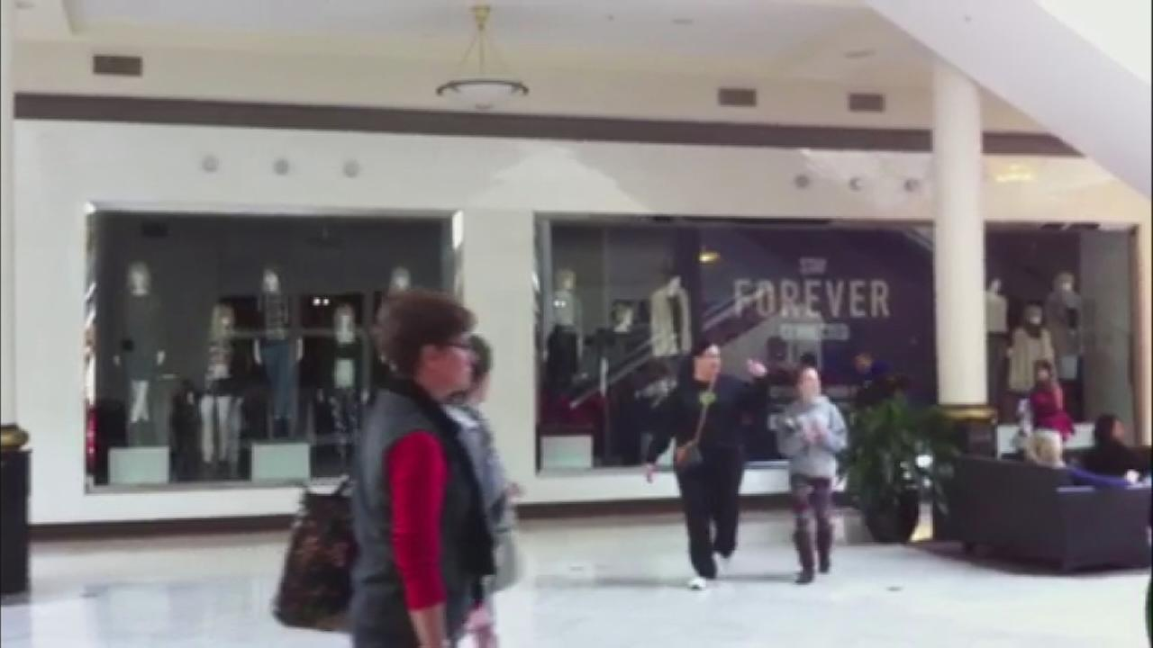 Shoppers left in the dark at Crabtree Valley Mall