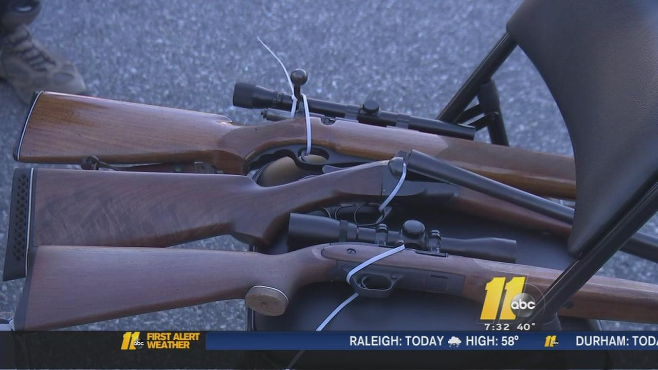 Fayetteville police, clergy hold citys 1st gun buyback