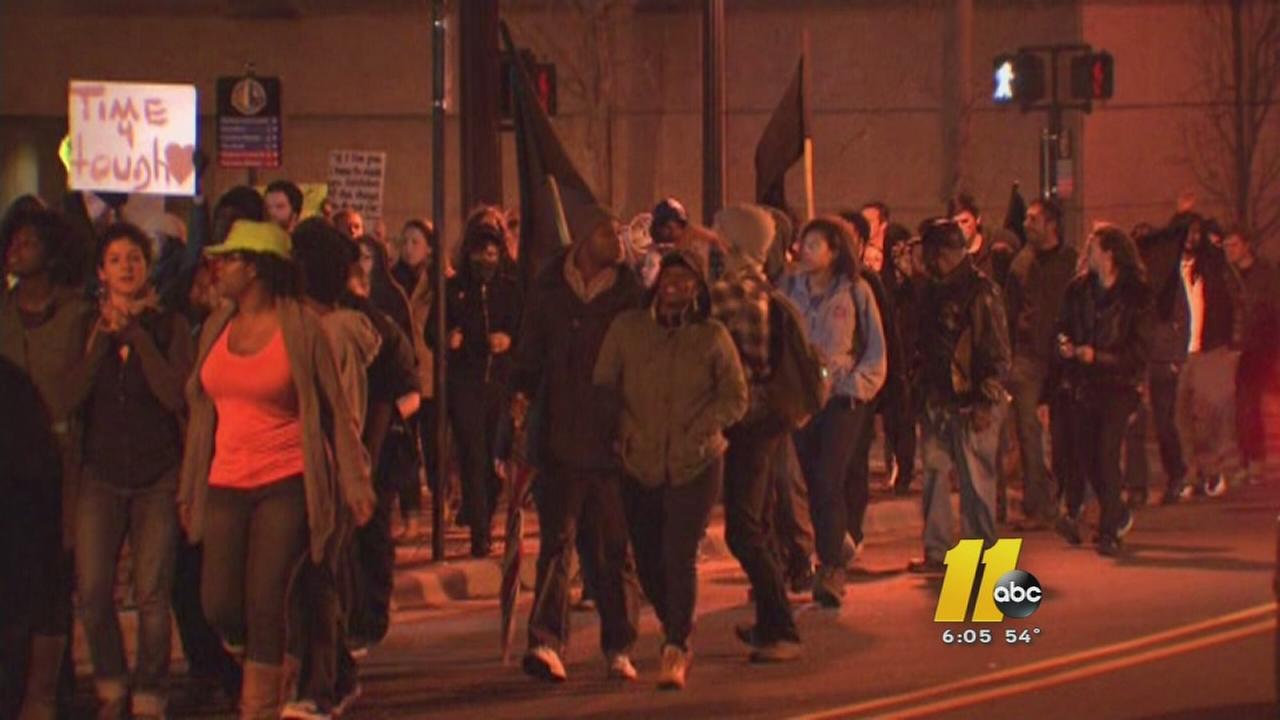 Rallies held across Triangle in response to Ferguson decision