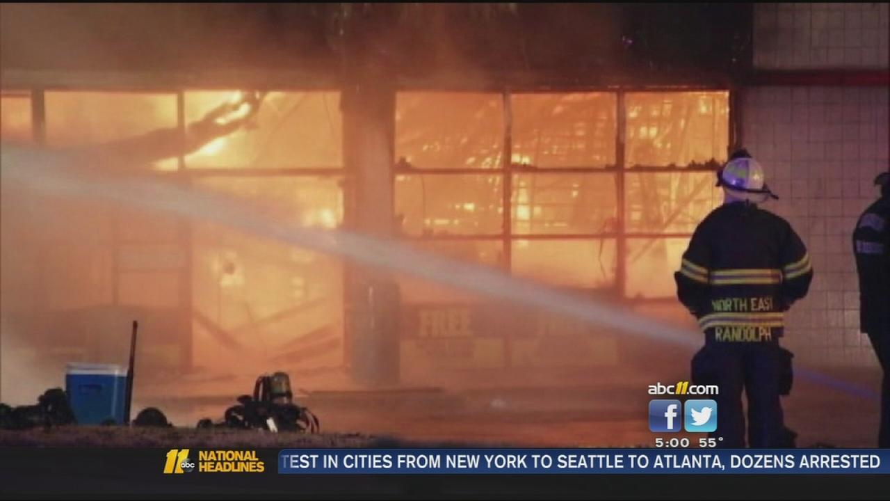 Ferguson fires