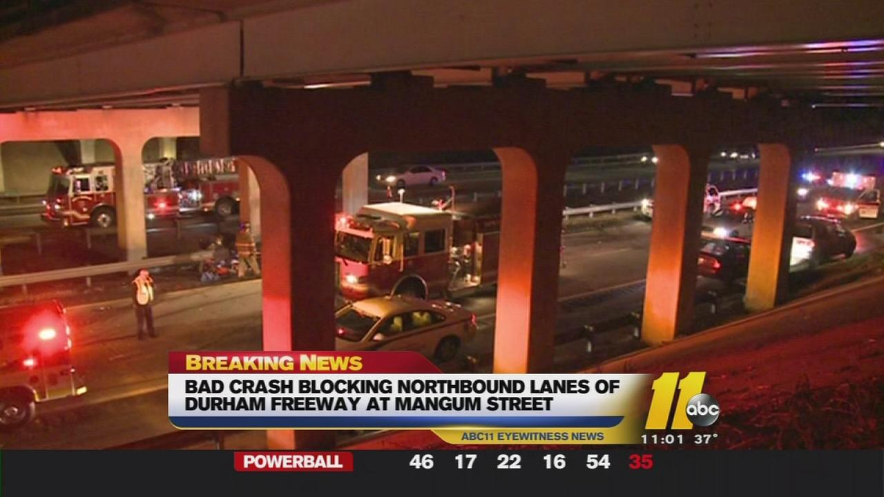 Durham Freeway accident