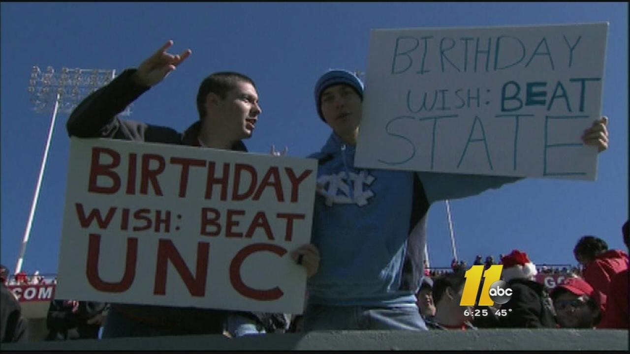 UNC and NC State will battle it out for bragging rights this weekend