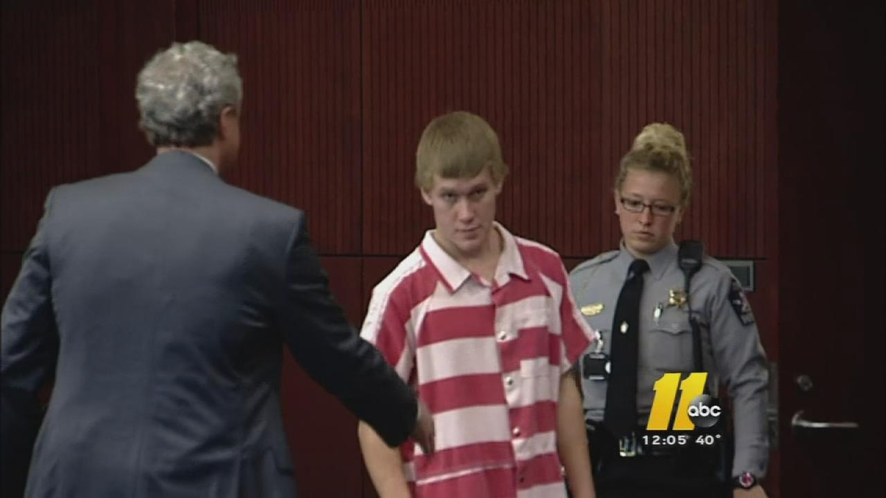 Marshall Doran appears in a Wake County courtroom
