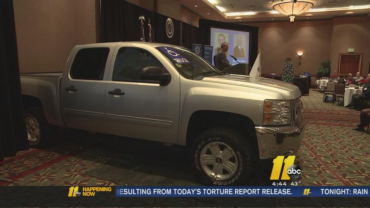 A local wounded veteran just received a special gift -- a handicap-equipped custom truck.