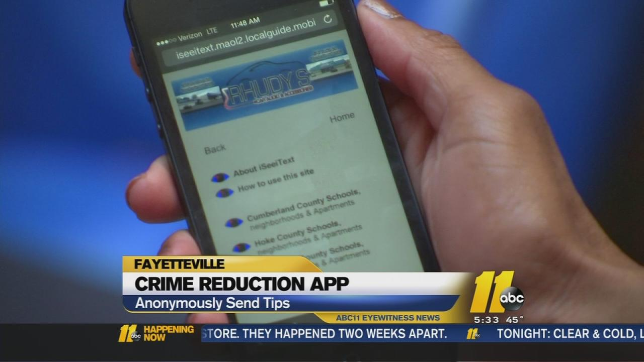 Fayetteville business owner introduces crime tips app