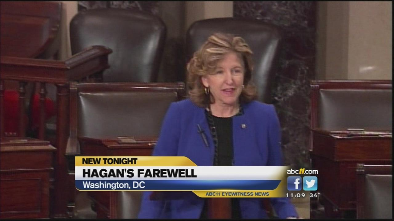 Sen. Kay Hagans last speech