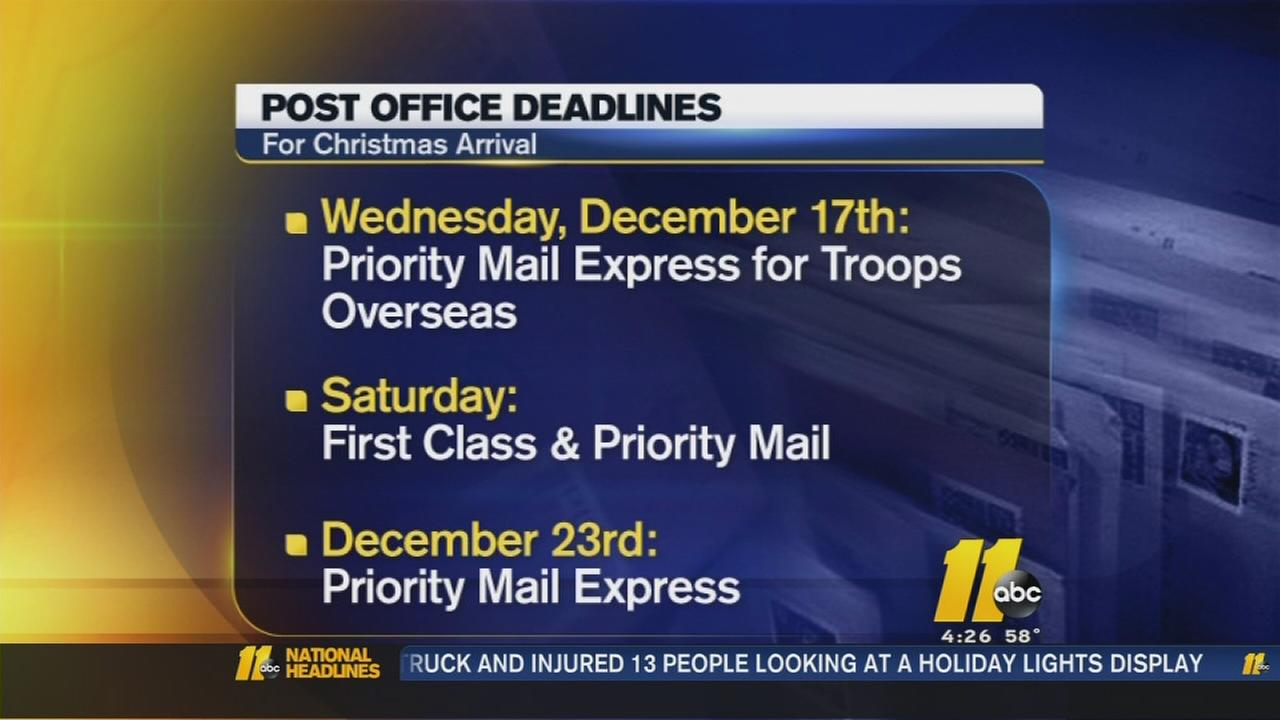 Dec. 15 - Busiest shipping day of the year
