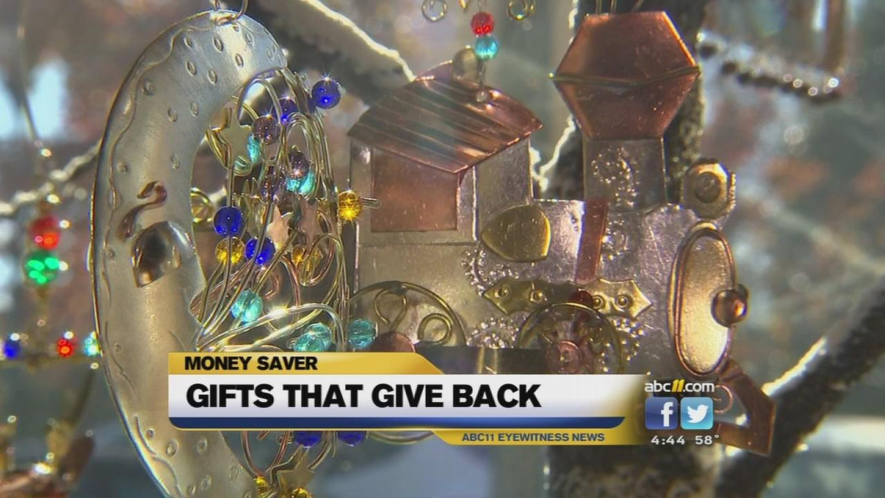 Using your holiday shopping to give to charity or those in need