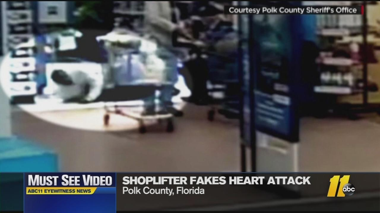 Must-See Videos: Thieves fake heart attack