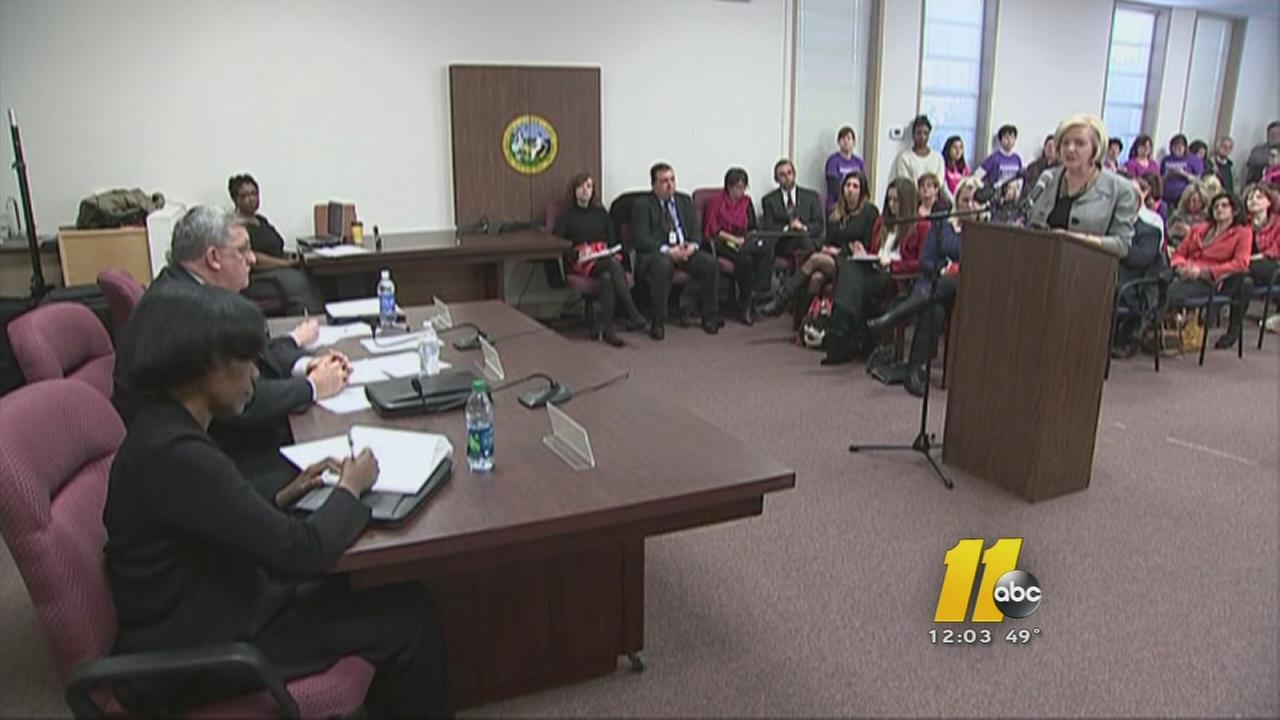 Hearing on NC abortion rules