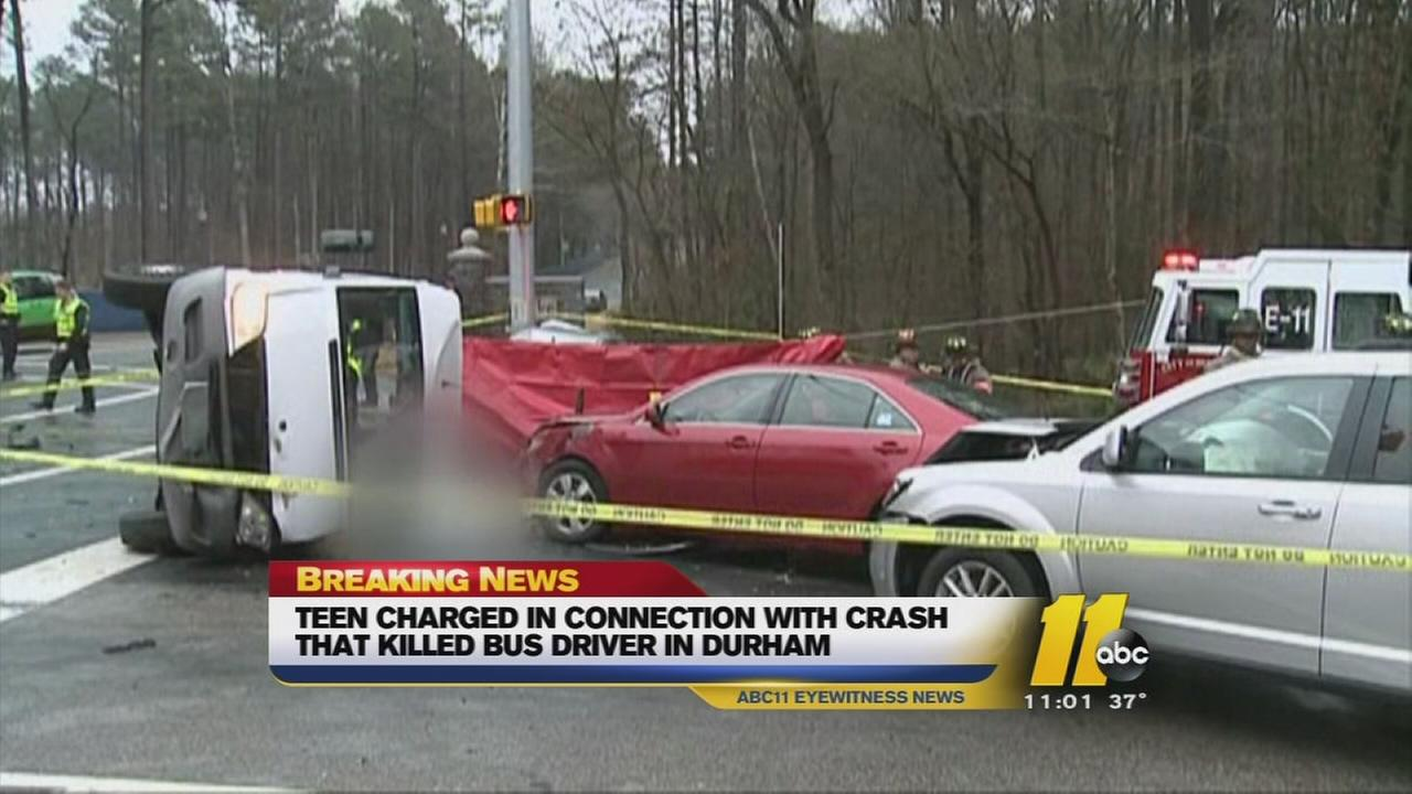 Man charged in fatal Durham crash