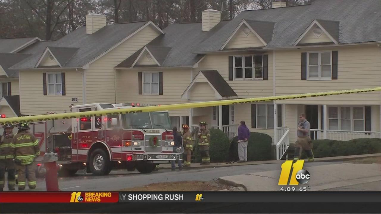 Raleigh family loses everything in Christmas Eve fire