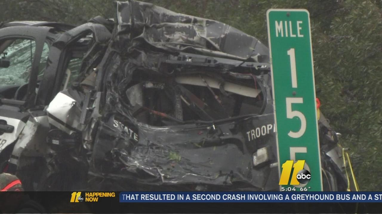 One dead after multiple crashes on I-40/I-85