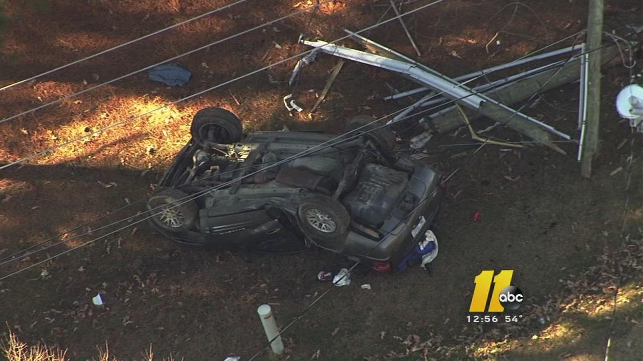Car crash in Wake County