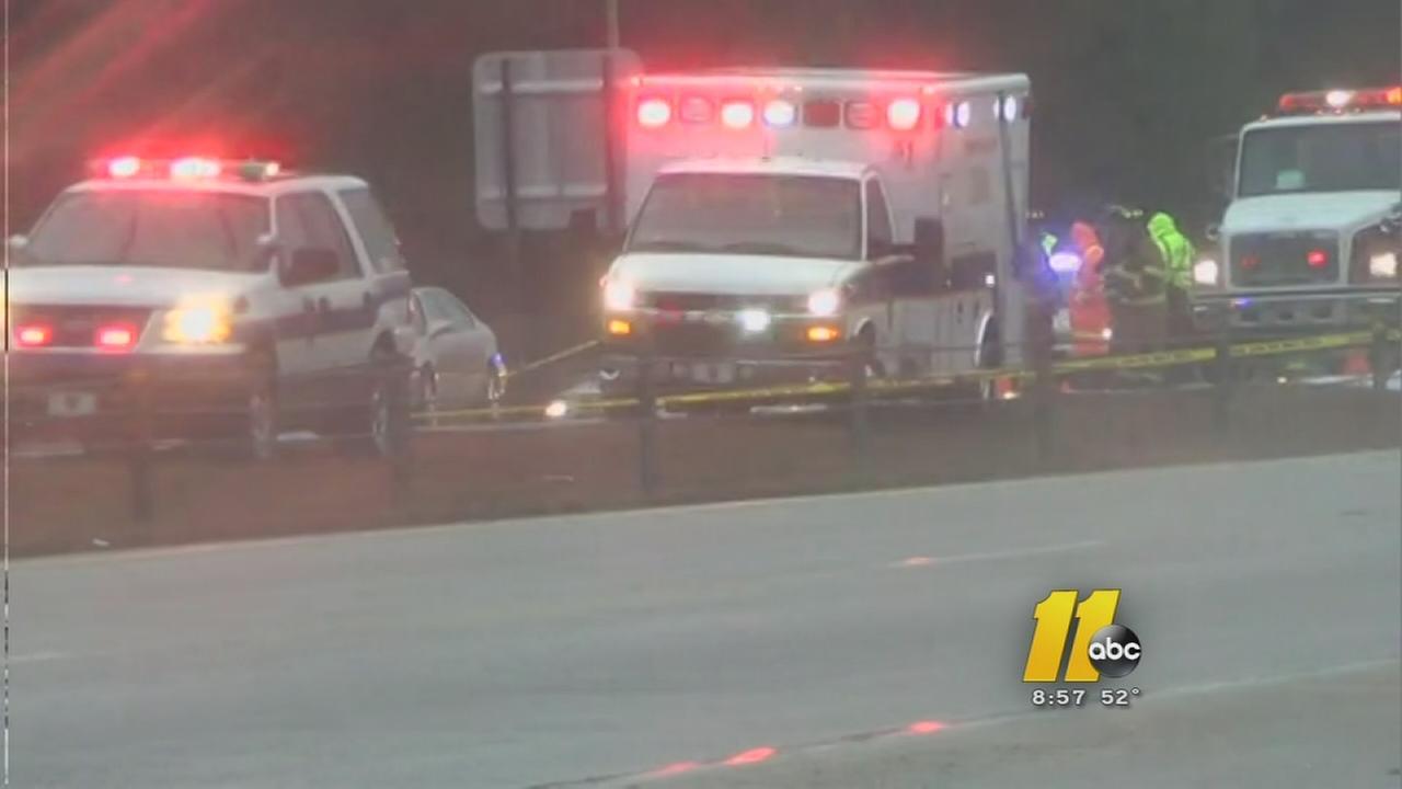 Rest stop worker killed on I-40