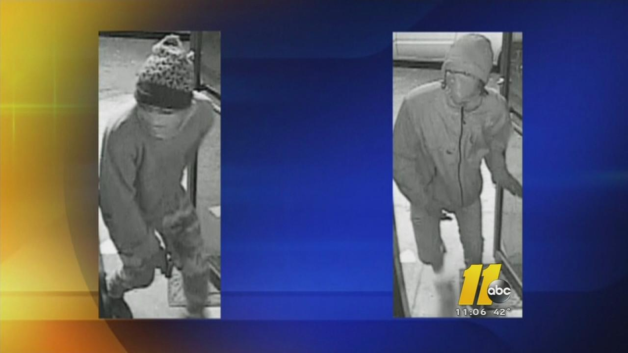Photos released of sweepstakes parlor robbery suspects