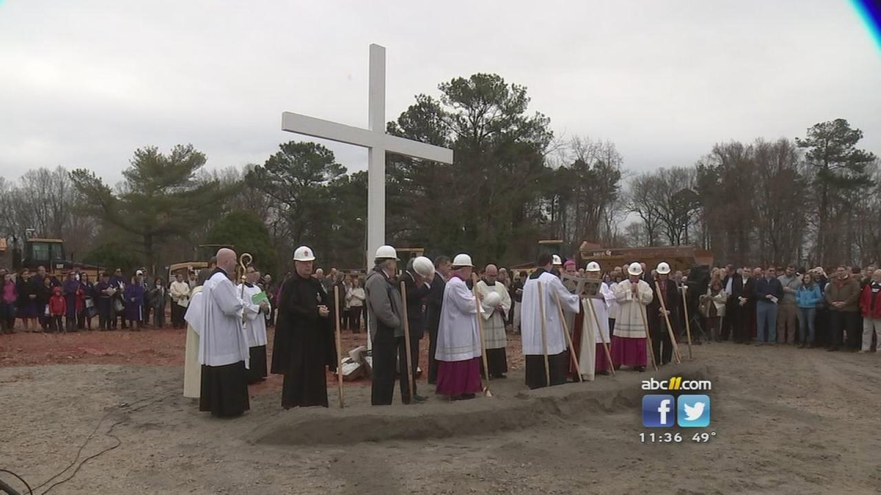 Raleigh Diocese breaks ground on $41M cathedral