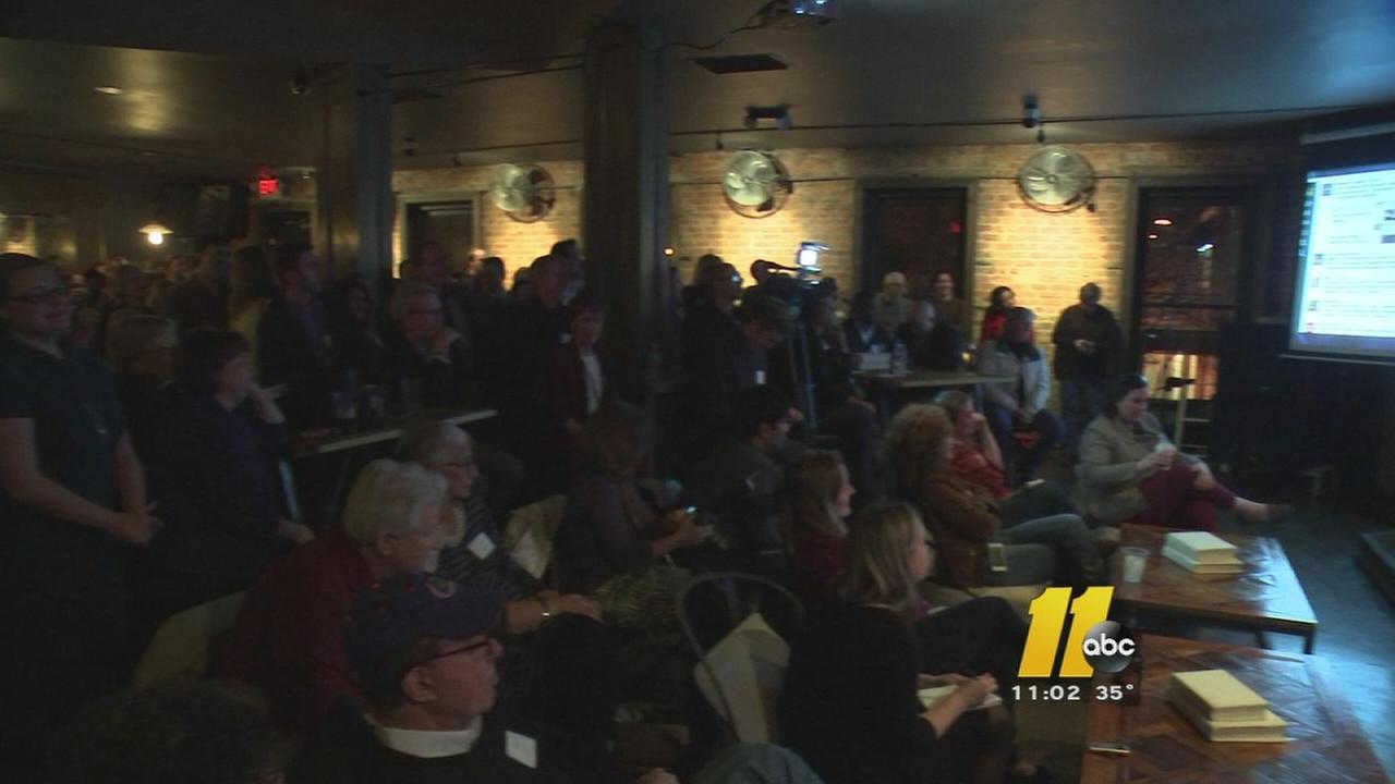 Airbnb town hall meeting held in Raleigh