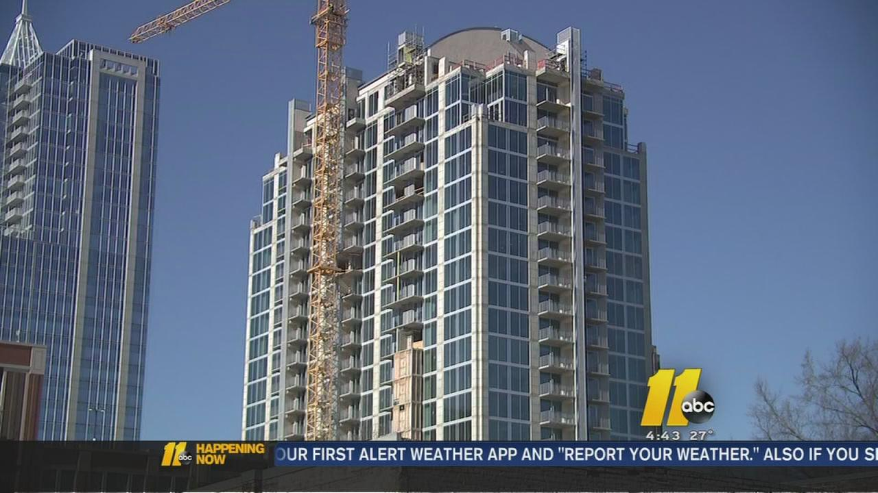 Raleigh rent is spiking