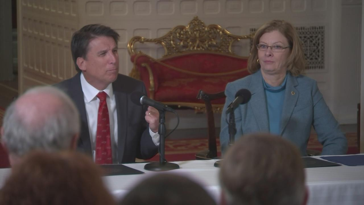 McCrory goofs up and calls Raleigh Charlotte