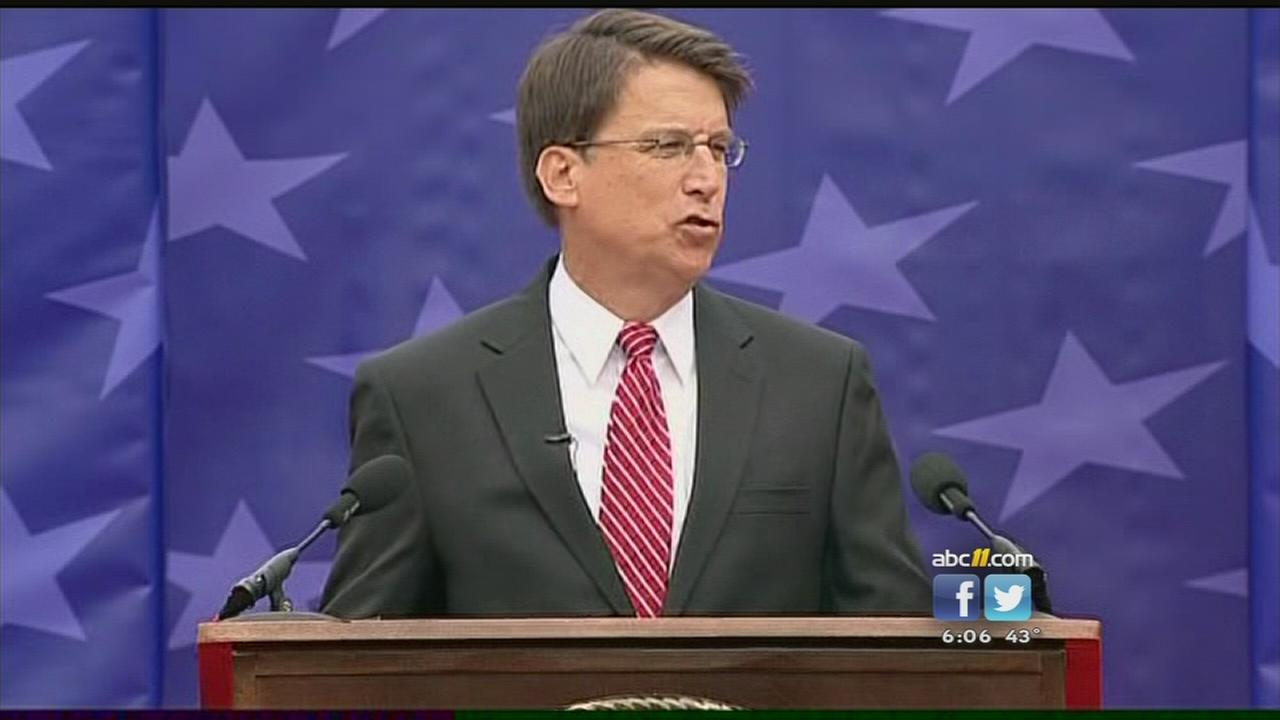 Groups file ethics complaints against Governor McCrory