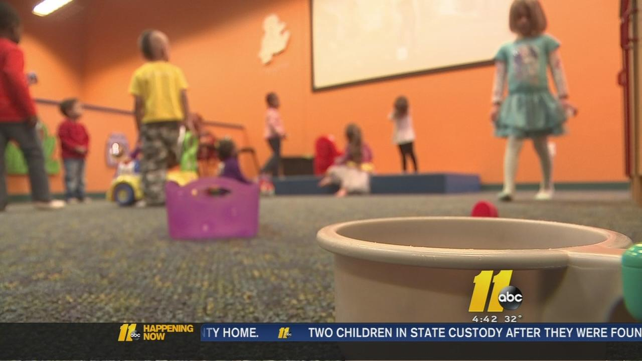Winter weather leads to day care rush