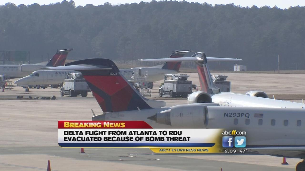 Delta flight evacuated