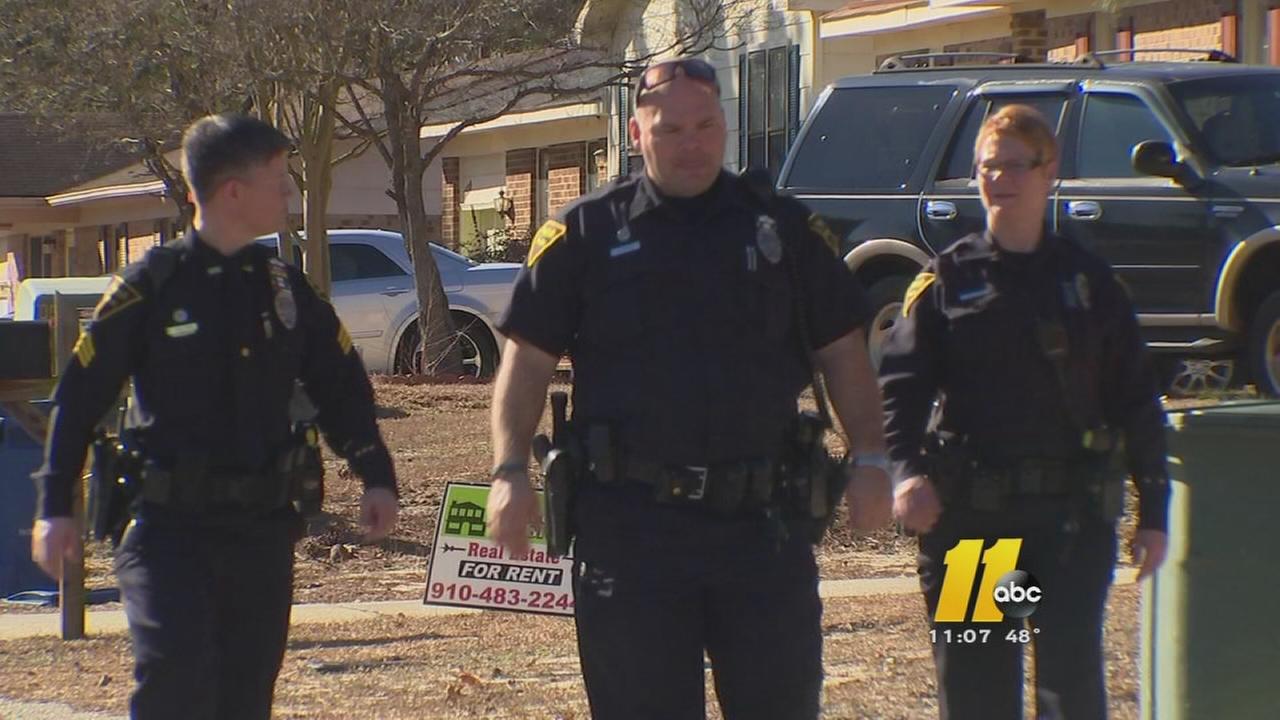 Residents in a Fayetteville neighborhood warned to be vigilant