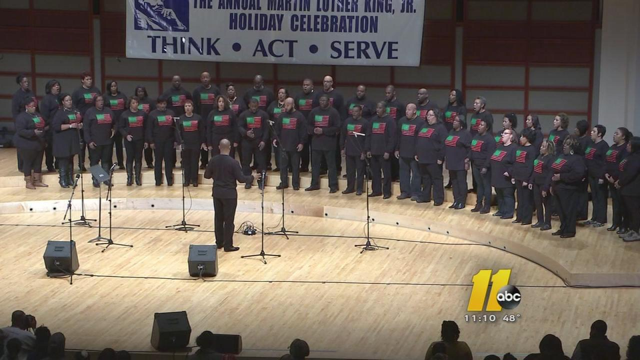 Events in North Carolina honor life of Dr. Martin Luther King Jr.