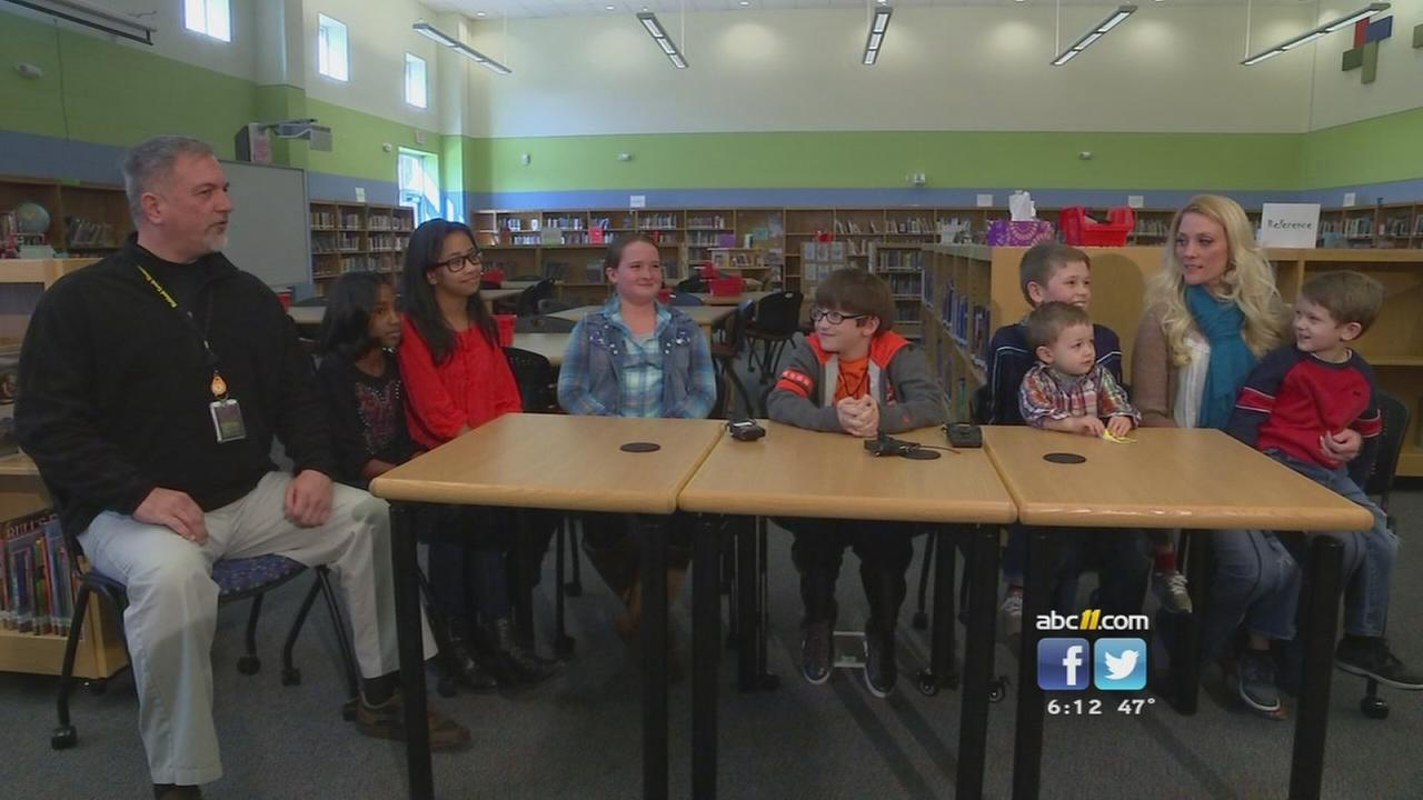 Students pitch in to help fire victim, family